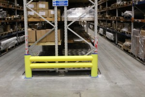 warehouse barrier Rack Armour