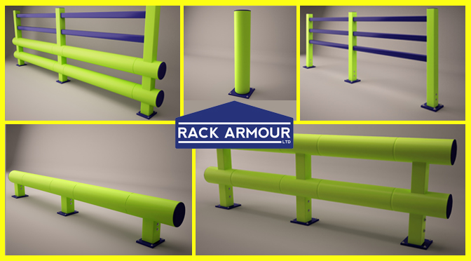 Warehouse Barriers Rack Armour