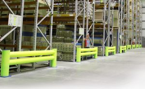Double Rail barrier warehouse -