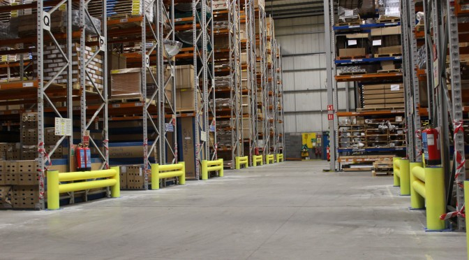 A Safe Working Environment With Rack Armour Barriers