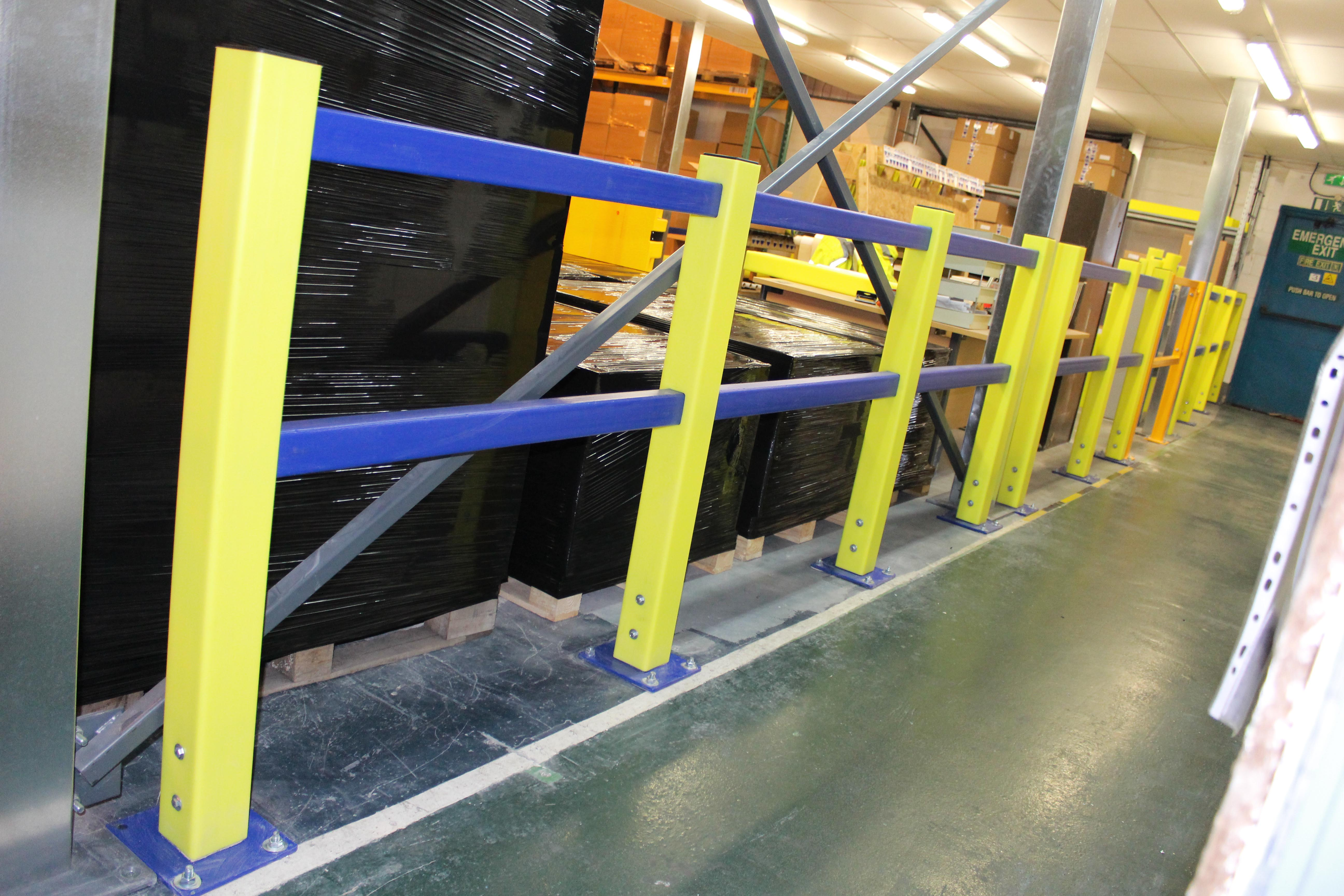 Forklift Barriers Preventing Injuries At Work Rack Armour
